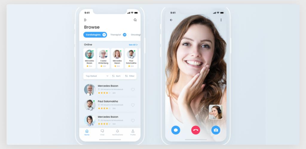 Telemedicine App Concept