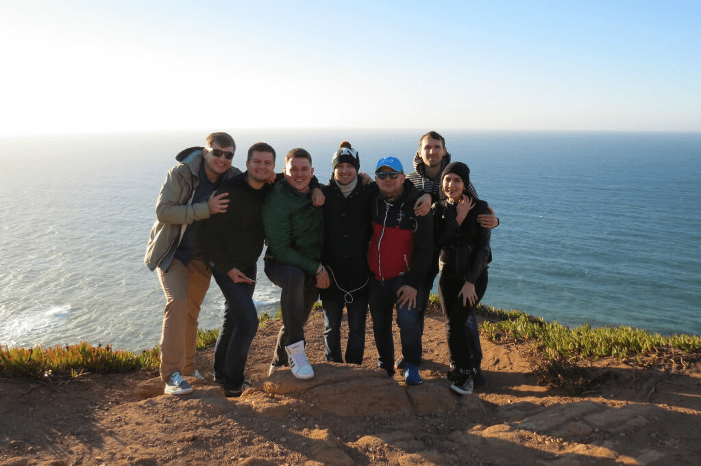 MLSDev Team at Cabo da Roca
