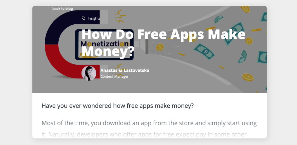 Article: Top 8 Proven App Monetization Strategies
