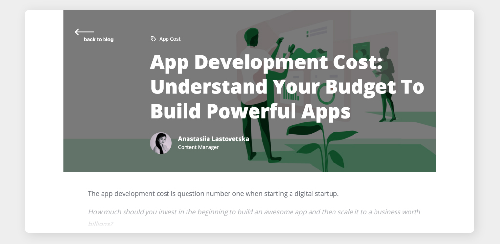 Full Guide to Understanding App Development Cost