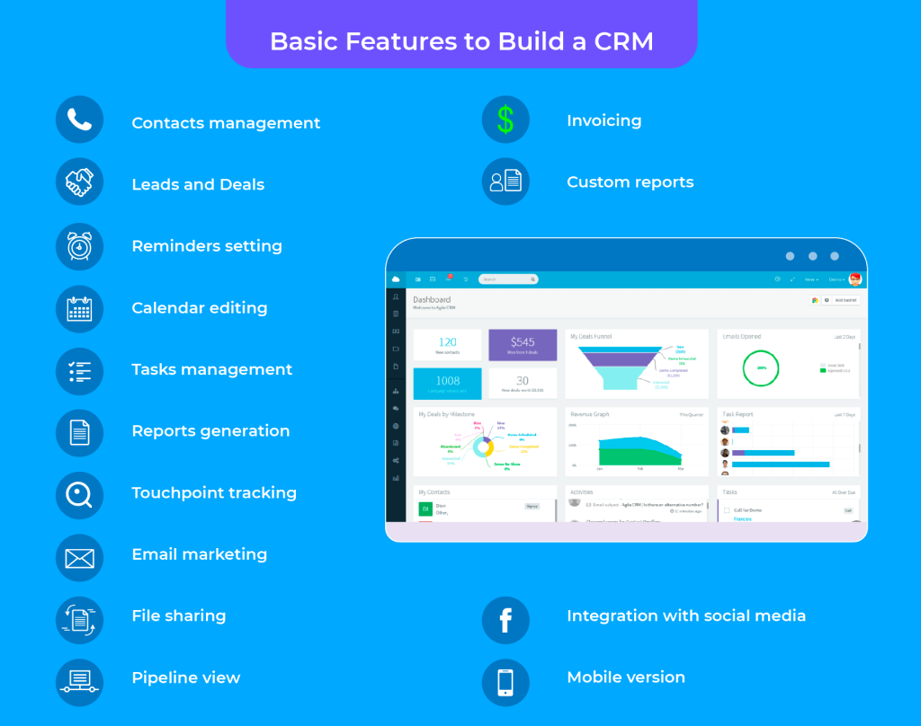 Basic Features to Build a CRM