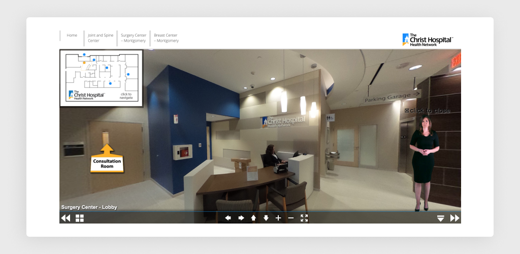 3D Tour of Surgery Center Montgomery