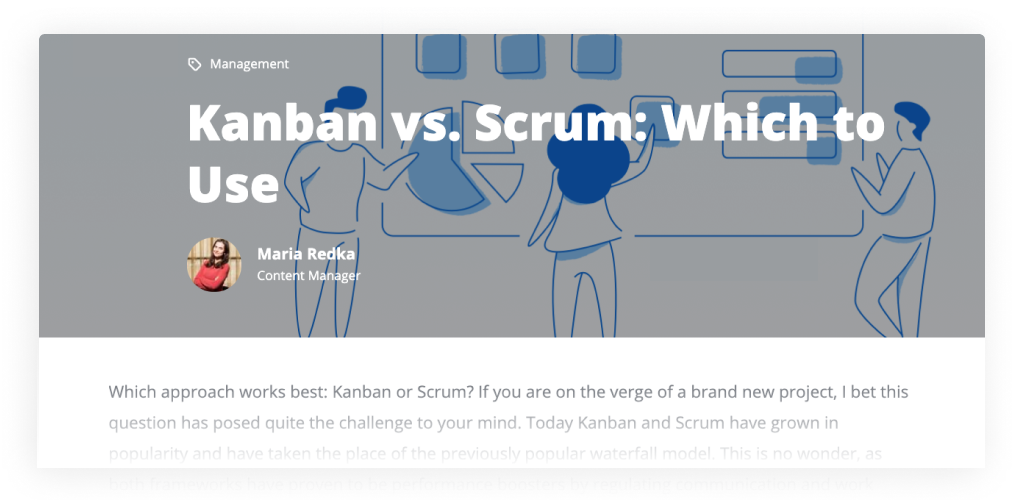 Software Development Methodologies: Kanban vs Scrum