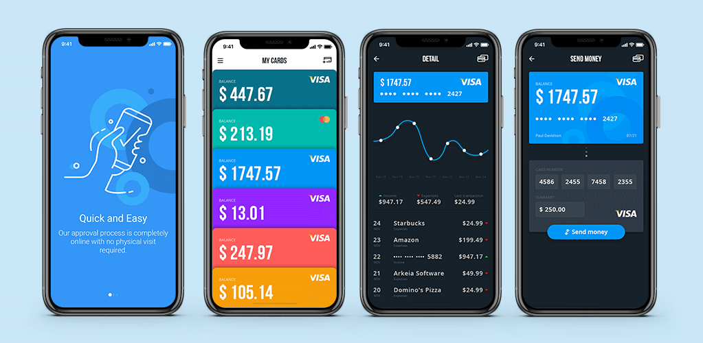 App Design: Example of UI Mockups