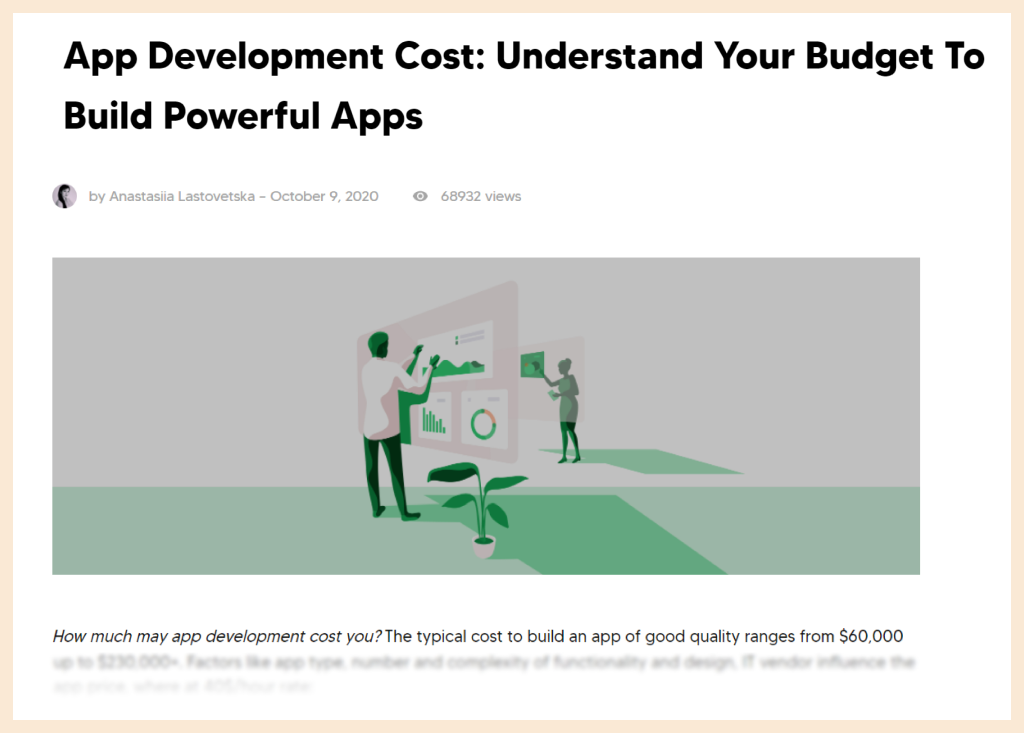 Guide to Define Your App Development Cost