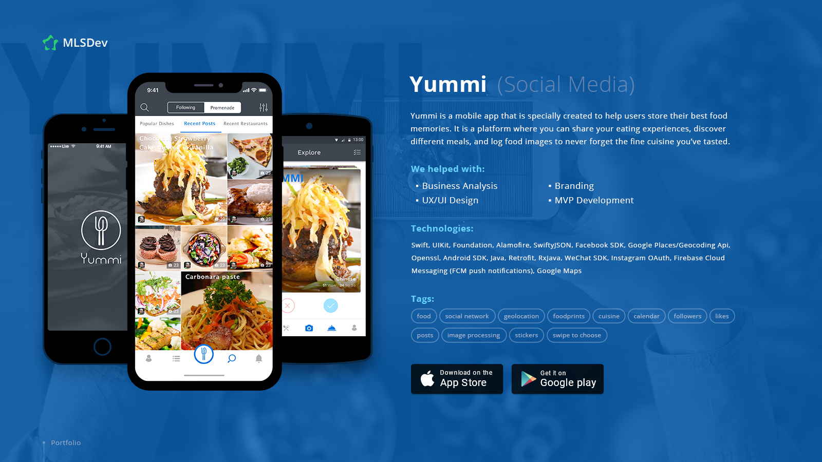 Yummi Application