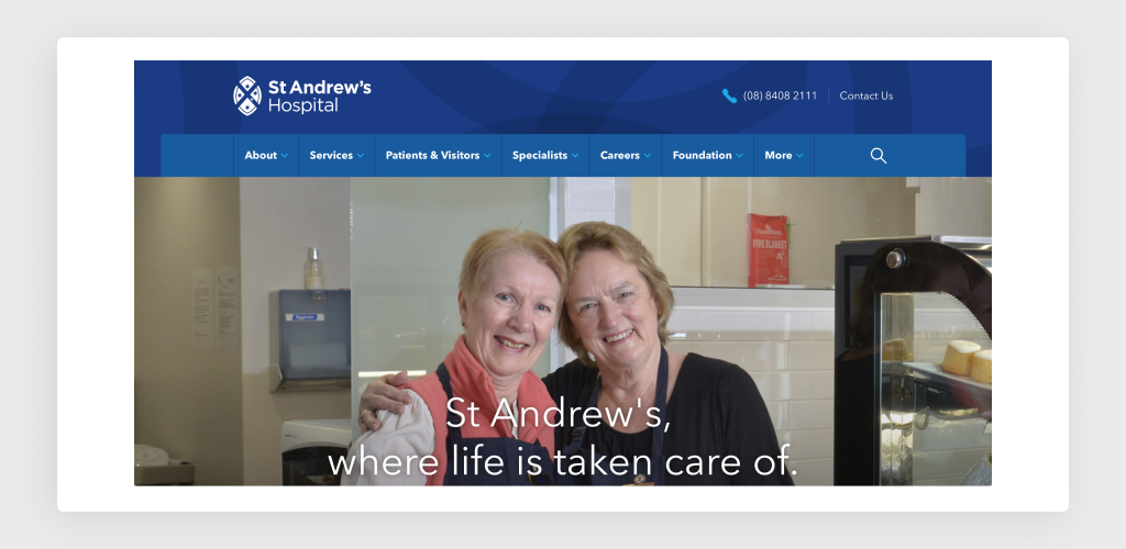 Usage of Photos at St. Andrew's Hospital