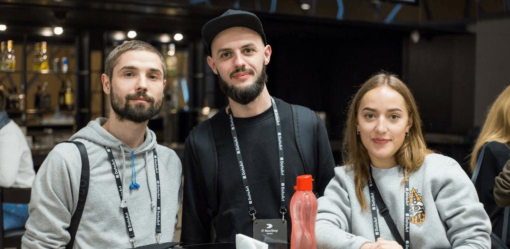 MLSDev Designers at IT NonStop: UX Night in Kyiv