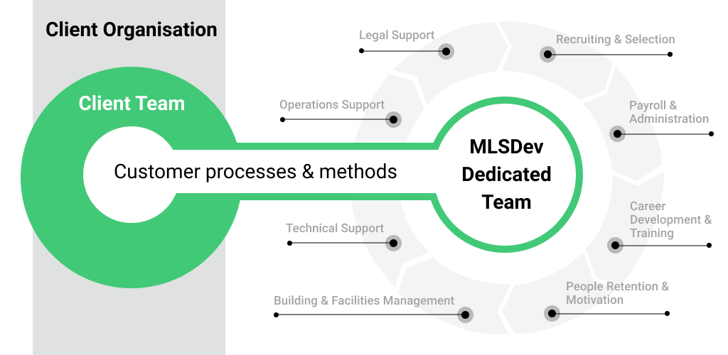 Client Business & MLSDev as a Development Team