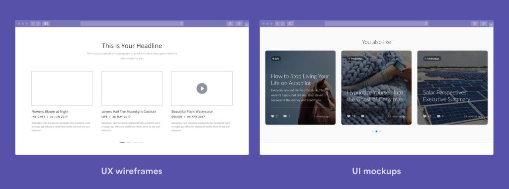 Website UX & UI Design