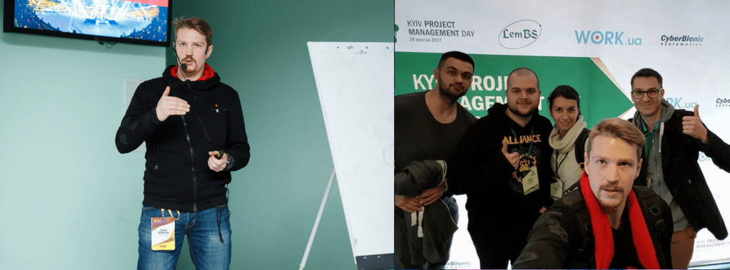MLSDev Project Managers at PMDay Kyiv