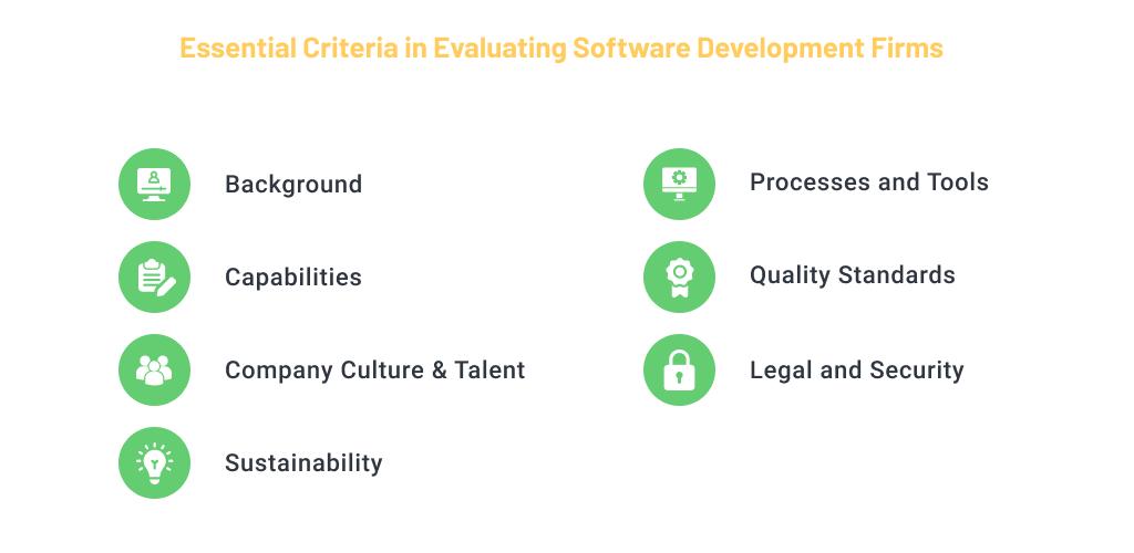 Key Vendor Selection Criteria for Software Development