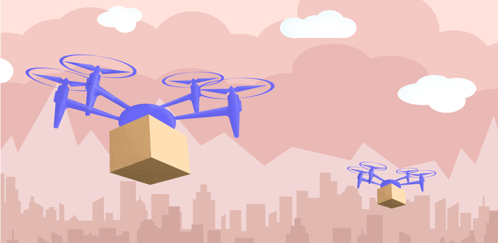 Drones Illustration