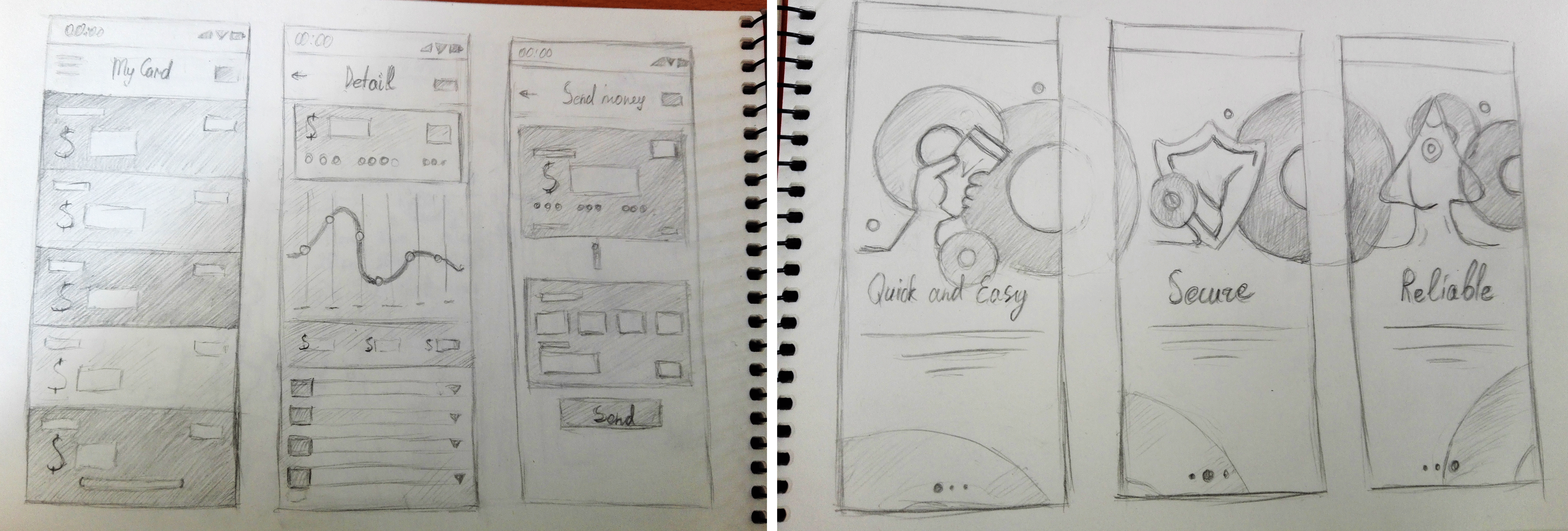 App Design: Sketches Example