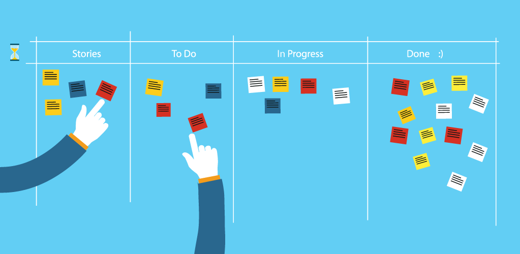 Management of Project Tasks on an Agile Team Board