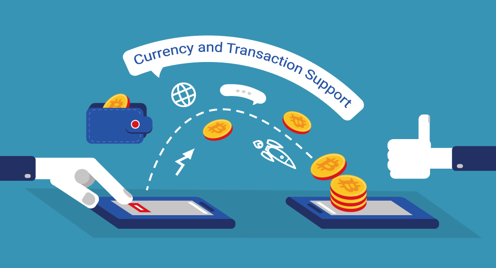 Blockchain for Currency and Transaction Support