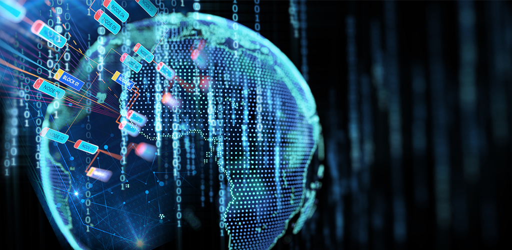 Globe and Future of Blockchain