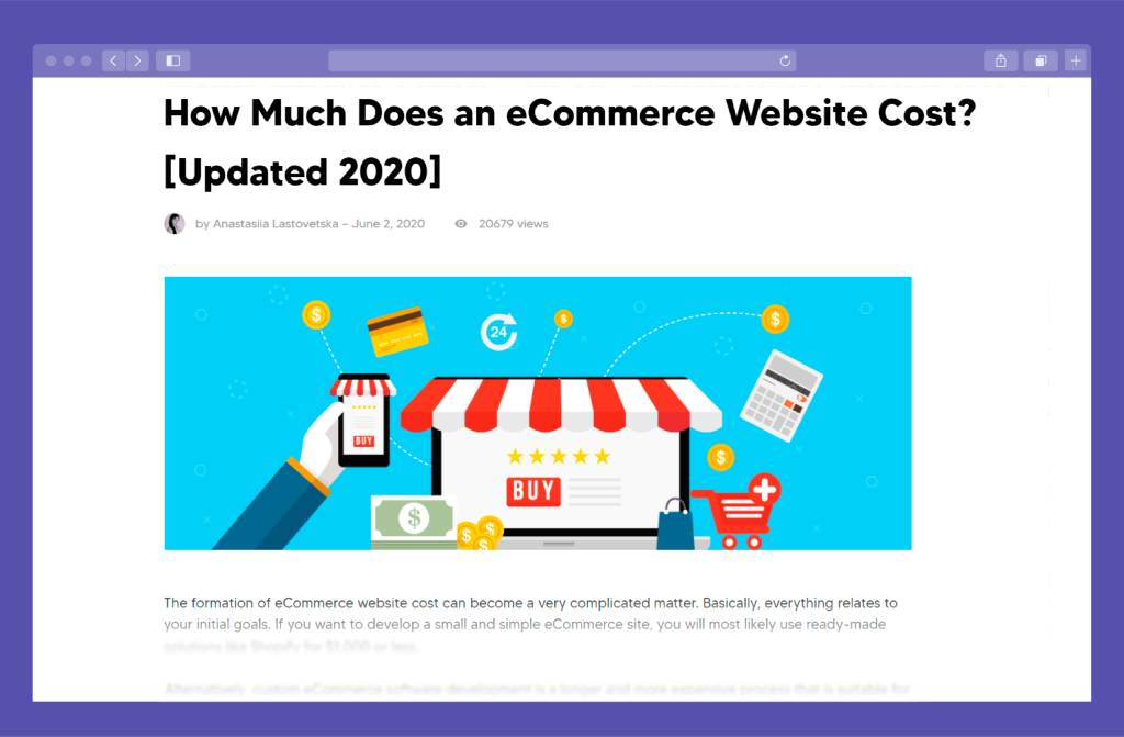 Guide Preview: How Much Does it Cost to Build a Website for E-Commerce