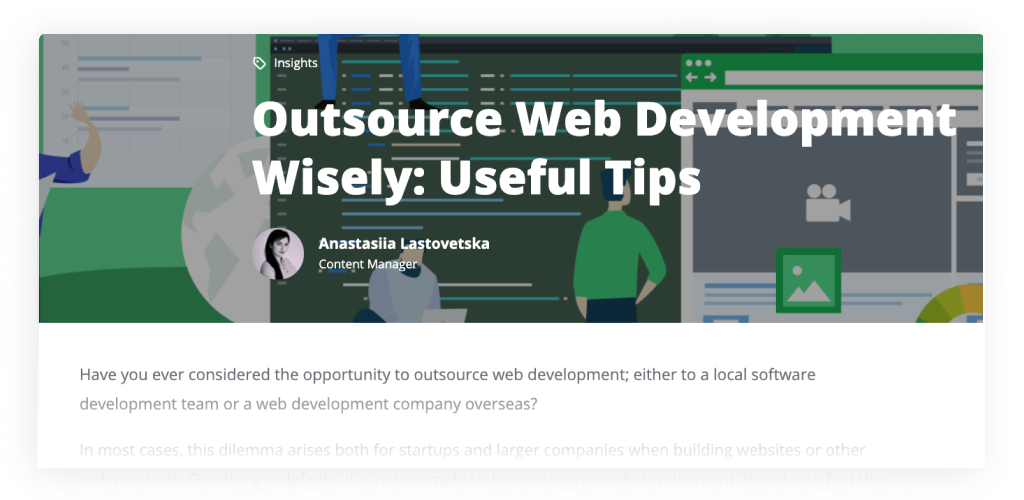 Guide on How to Outsource Web Development