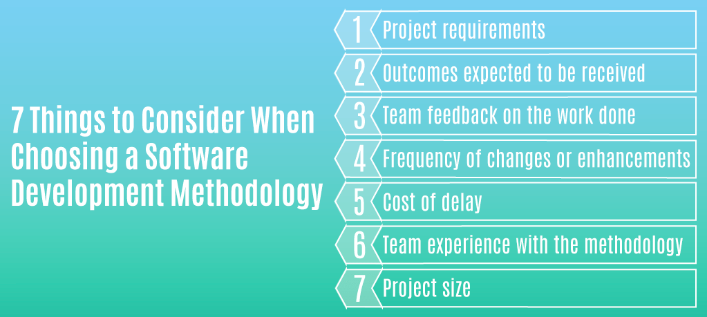 7 Things to Consider When Choosing a Software Development Methodology