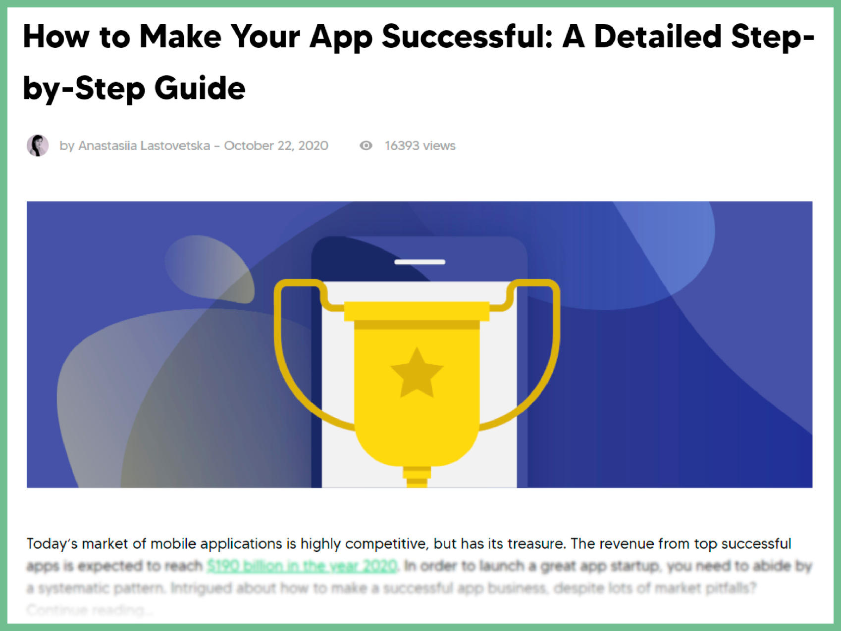 Ultimate Guide on How to Make any App Successful