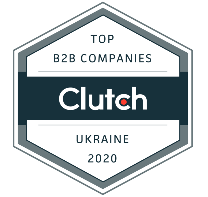 Clutch Badge: Top B2B Companies in Ukraine 2020