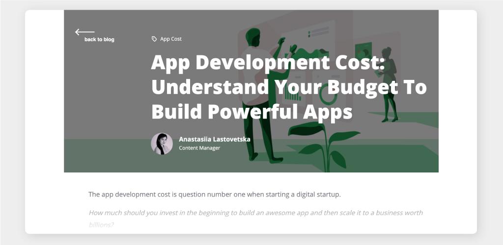 Guide on App Development Cost