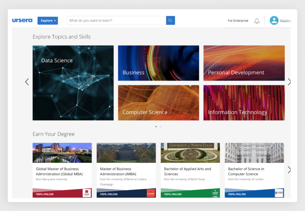 Coursera Search Functionality