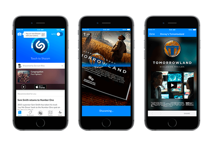 how to create shazam visual recognition